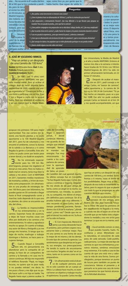 Entrevista en Planeta Running, es de hace unos años ya